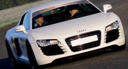 Pilotage en Audi R8 - Circuit de Lohéac