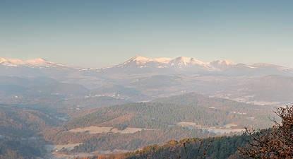 Randonnée en 4x4 près de Clermont-Ferrand