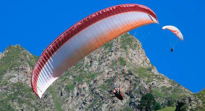 Vol Découverte en Parapente dans les Pyrénées