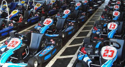 Session de Karting à Figari