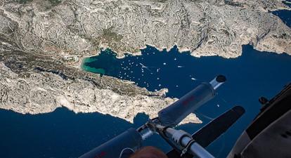 Vol en hélicoptère au Castellet - Survol du Var ou de Cassis avec les portes ouvertes