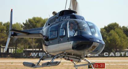 Baptême en Hélicoptère au dessus de la Côte Varoise
