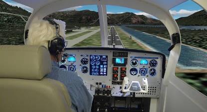 Simulateur vol Grenoble