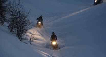 Randonnée Motoneige Dégustation Pra-Loup