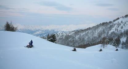 Randonnée Motoneige Matinale Pra-Loup