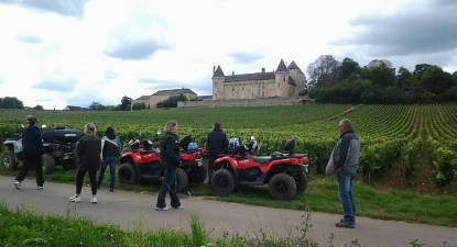 Randonnée en Quad ou Buggy près de Chalon-sur-Saône