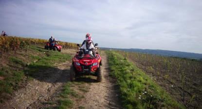 Randonnée en Quad près Chalon-sur-Saône