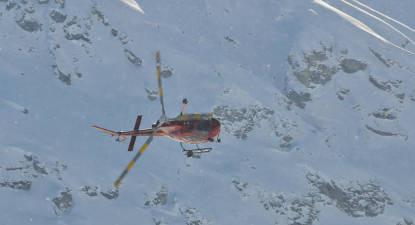 Baptême en hélicoptère - Survol du Mont Blanc