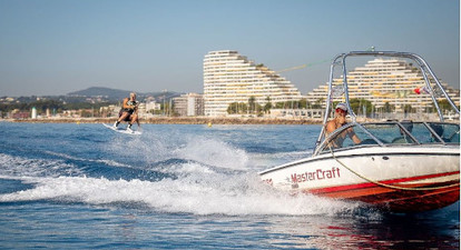 Initiation au Wakeboard près de Nice