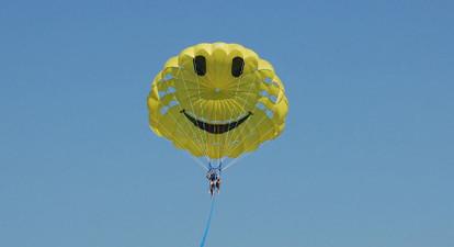 Vol en Parachute Ascensionnel près d'Antibes