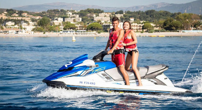 Initiation Jet Ski près d'Antibes