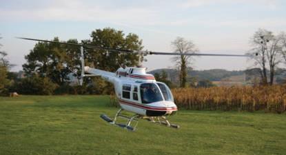 Baptême Hélicoptère Arcachon