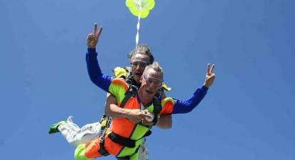 Saut en Parachute Tandem au Havre