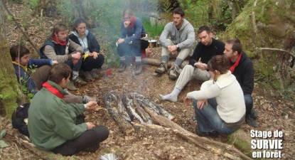 Stage de survie façon Bite & Couteau dans le Périgord