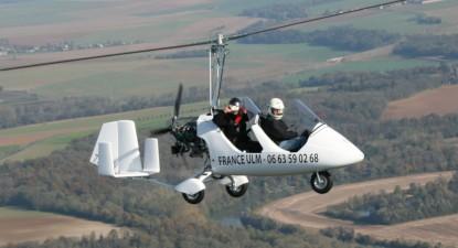 Baptême et vol en ULM à proximité de Paris