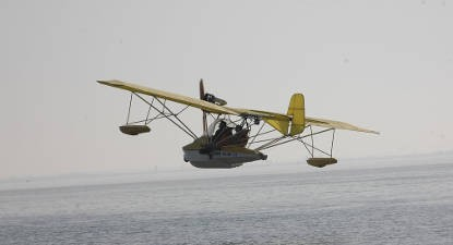Baptême en ULM Hydravion au dessus de l'Île d'Oléron
