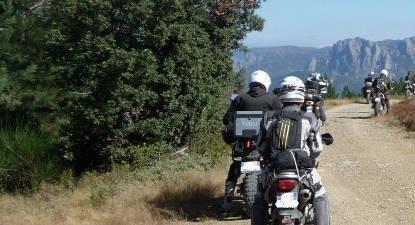 Randonnée en Moto de 3 jours près de Carcassonne