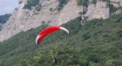 Vol découverte parapente + vol plaisir Deltaplane près de Grenoble