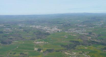 Vol en ULM Autogire à proximité de Clermont Ferrand