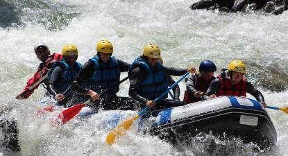 Rafting  aux Gorges de St Georges dans l'Aude
