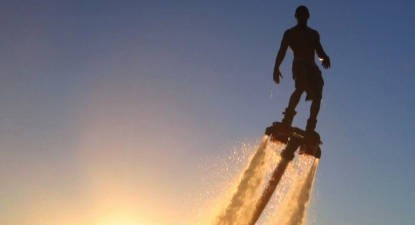 Initiation au Flyboard à Arcachon