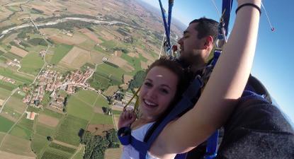 Saut en Parachute  près de Nice
