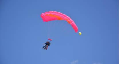 Saut parachute Tandem Poitiers