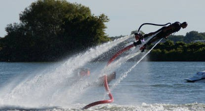Initiation au Flyboard près de Toulon