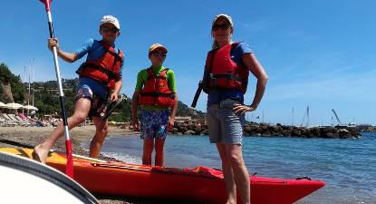 Randonnée en Kayak de mer près du Massif de l'Esterel