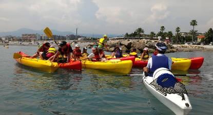 Randonnée en Kayak de mer à Cap d'Antibes