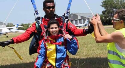 Saut en Parachute Tandem à Beaune
