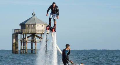 Initiation au Flyboard à La Rochelle