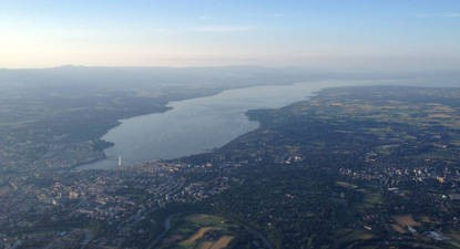 Vol en Montgolfière- Canton de Genève