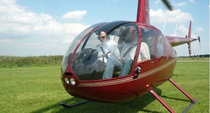 Vol en hélicoptère à Bruxelles avec dégustation de champagne