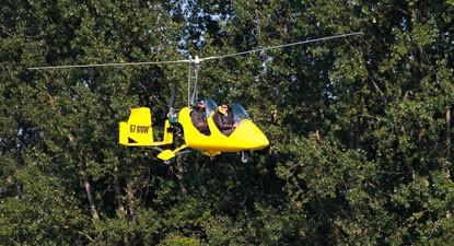 Initiation au pilotage d'ULM Autogire près de Kogenheim en Alsace