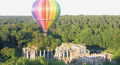 Vol en montgolfière près de Bruxelles - survol du Brabant Wallon