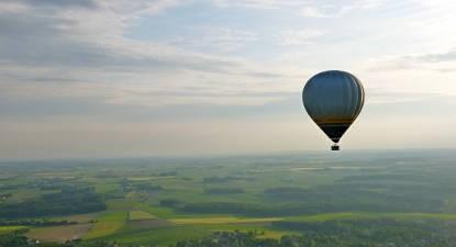 Vol en montgolfière à la découverte du Brabant Wallon près de Bruxelles