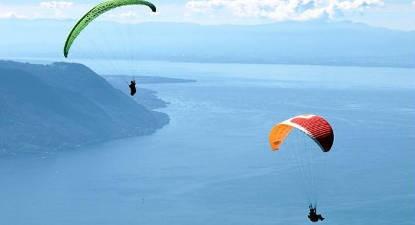 Vol en Parapente Biplace à Villeneuve prés du Lac Léman