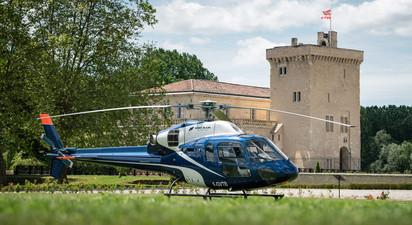 Baptême privatif en Hélicoptère - Bordeaux et ses vignobles