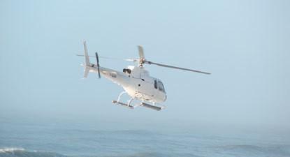Baptême en hélicoptère à Arcachon