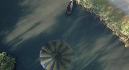 Baptême en montgolfière - Vol près de Niort et au dessus du marais Poitevin
