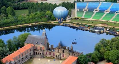 Baptême en montgolfière - Vol près de la Roche sur Yon et du Puy du Fou