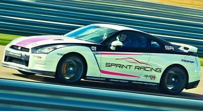 Pilotage d'une Nissan GTR - Circuit de Saint-Laurent-de-Mure