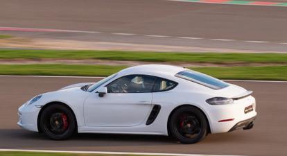 Pilotage Porsche Cayman 718 S - Circuit de Croix en Ternois