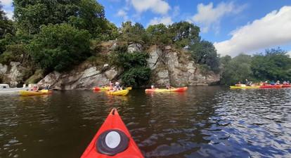 Location de Kayak biplace à proximité de Guérande et de Vannes