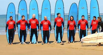 Cours de Surf à la Tranche-sur-Mer