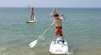 Cours d'initiation au Paddle à la Tranche-sur-Mer