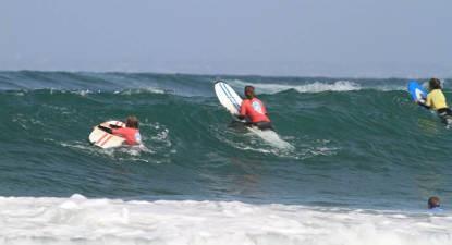 Cours de Surf près de Pont-l'Abbé