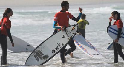 Cours particulier de Surf près de Quimper