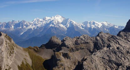Baptême de l'Air en Avion au Mont Blanc au départ d'Annecy